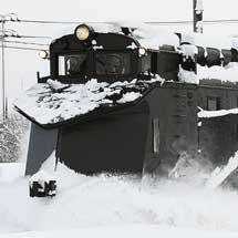 弘南線でキ104+ED333が試運転