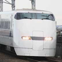 300系が東海道新幹線での定期運用を終える