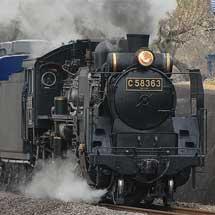 C58 363が上越線で試運転