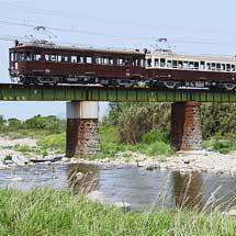 ことでんで旧形電車4連特別運行