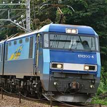 富士急6000系第3編成が甲種輸送される