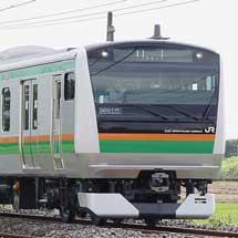 E233系3000番台が小金井へ