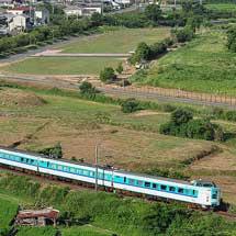 381系アコモ編成の団体臨時列車運転