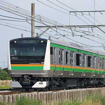 E233系3000番台L05編成が高崎線〜東海道本線で試運転