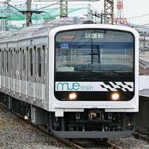 「MUE-Train」が武蔵野線・中央快速線で試運転