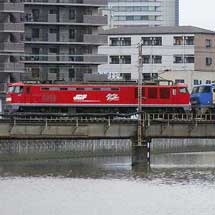 4076列車にEF510+EF200