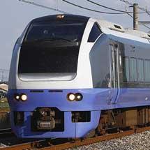 E653系7両が新潟車両センターへ