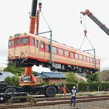 キハ28 2346が,いすみ鉄道に搬入される