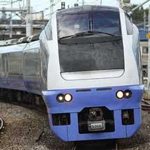 E653系K302編成が勝田車両センターへ戻る