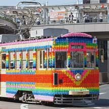 豊橋鉄道市内線で花電車を運転