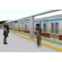 西武・東急・相鉄で新形ホームドアの実証実験
