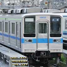 東武10030系11652編成が野田線ニューカラー(?)に