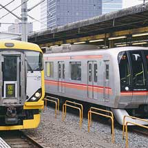 中央総武緩行線にE257系500番台が入線
