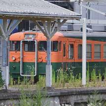 しなの鉄道クモハ169-6が軽井沢駅へ