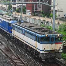 EF510形500番台3両が高崎(操)へ