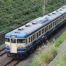 115系訓練車が豊田へ