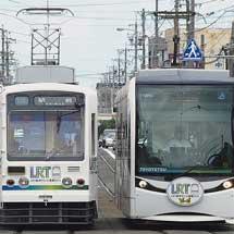 豊橋鉄道市内線で「LRT都市サミットPR電車」運行中
