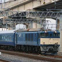 EF64 1051が東北本線で24系客車をけん引