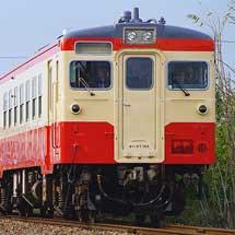 水島臨海鉄道のキハ37+キハ38が試運転
