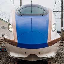 JR東日本,上越新幹線大宮—新潟間の最高速度を275km/hに向上へ2022年度末までに上越新幹線の車両をE7系に統一