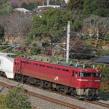 651系K101編成が勝田へ回送される