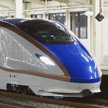 E7系が試運転で長野へ