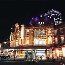 東京駅丸の内駅舎でクリスマス特別ライトアップ