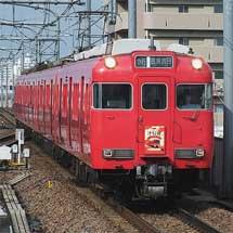 名鉄津島線開業100周年記念列車運転