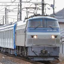 東武鉄道60000系61605・61606編成が甲種輸送される