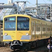 近江鉄道の西武 新101系改造車が本線試運転