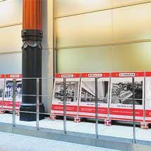 東京駅で『丸ノ内線開業60周年×東京駅開業100周年 記念パネル展』開催