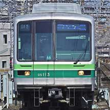 05系改造車が千代田線綾瀬—北綾瀬間で営業運転を開始