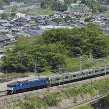 205系クラH5編成が長野総合車両センターへ
