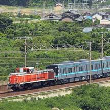 名古屋市交N3000形が甲種輸送される