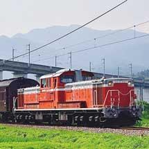 DD51+旧客が吾妻線で試運転