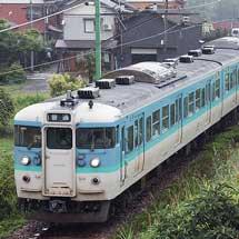 115系N34編成・N35編成が新潟地区での運用を開始