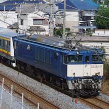 E233系8000番台N2編成が配給輸送される