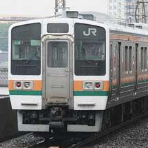 211系A26編成のうち4両が桐生へ