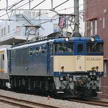 E233系8000番台N5編成が配給輸送される