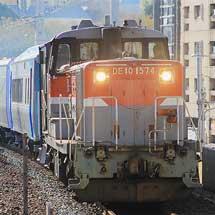 キハ261系の構体が輸送される