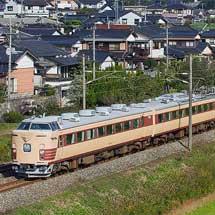 485系Do-32編成による修学旅行列車運転