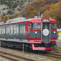 """しなの鉄道で""""軽井沢プラチナバーゲン号""""運転"""