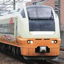 E653系1000番台が京葉線に入線