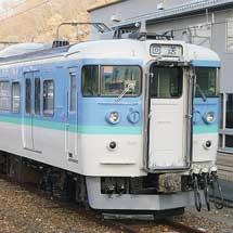 115系N21編成が,しなの鉄道に譲渡される
