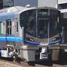 521系J20・J21編成が近畿車輛から出場