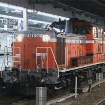 321系D36編成が配給輸送される