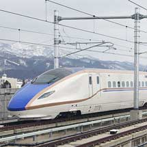 北陸新幹線で試乗会実施