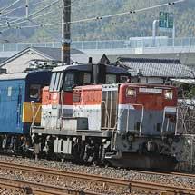 クハ103-1が京都鉄道博物館に向けて甲種輸送される