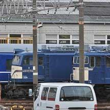 EF58 150が青色に