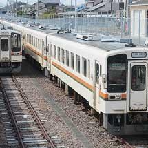 美濃太田車両区所属のキハ11形が全車運用離脱
